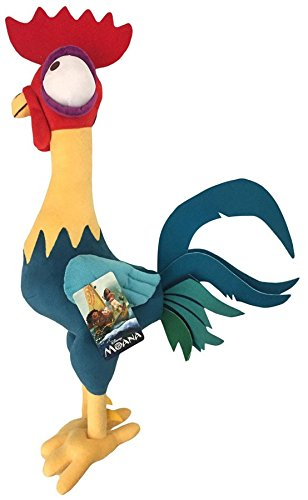 Disney Moana Plush Stuffed Hei Hei Pillow Buddy - Kids Super Soft Polyester Microfiber, 18 inch (Official Disney Product)