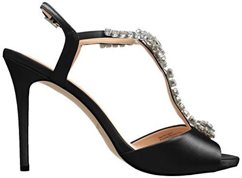Jewel Heeled Sandal Women's Leeane Badgley Mischka Black gwrqIvXFgn