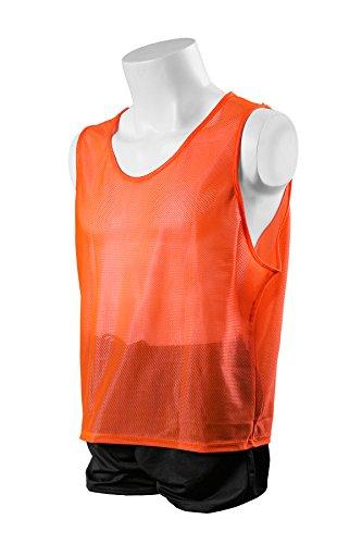 (Kwik Goal Hi-Vis Scrimmage Vest, Orange, Adult)