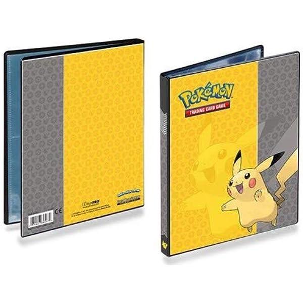 Pokemon Pikachu Binder Portfolio Pocket Album Card Xy Portfolio Holder 240 Cards