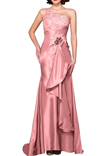 Braut Bodenlang Partykleider Spitze Abendkleider mia Rosa Figurbetont Traeger Hell Rosa Etuikleider Ein Neu La Brautmutterkleider SX5vqwTTc