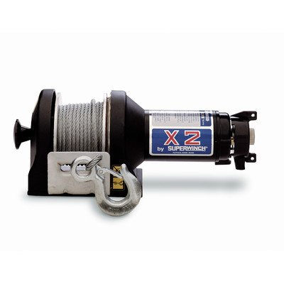 Superwinch 1215 X2F 24VDC winch with freewheeling feature, rated line pull of 3,000 lb/1363 kg