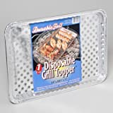 ALUMINUM DEEP GRILL TOPPER 11.75 X 9.25 X 1.5 DISPOSIBLE SHIPPER, Case Pack of 120