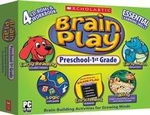 Scholastic Brain Play Preschool-1st grade