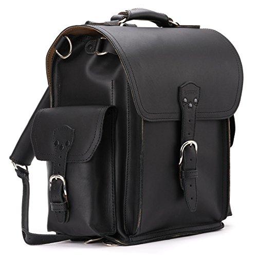 Saddleback Leather Squared Backpack - Best Backpack for School, Business, Travel - 100 Year Warranty by Saddleback Leather Co. (Image #1)