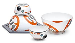 ThinkGeek Star Wars BB-8 Bowl Set - Platter and 2 Bowls