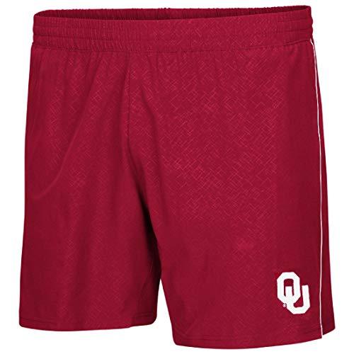 Colosseum Oklahoma Sooners Crimson Synthetic Ciao Training Shorts (L)