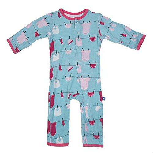 Print Coverall (Glacier Baby Laundry Preemie)