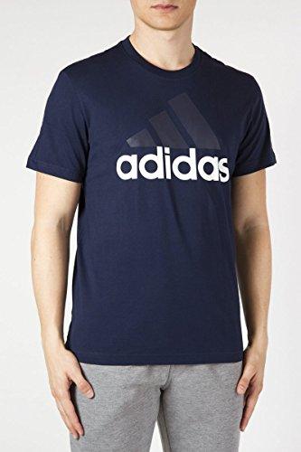 Ess Linear Adidas Homme black White T Tee Shirt zCqqd5