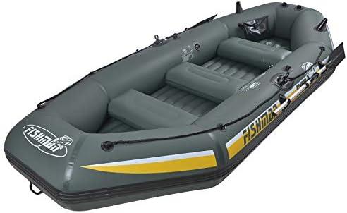 JILONG 500 Fishman II, Bote Inflable Unisex, Adulto, Verde, L