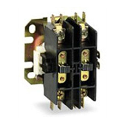 OEM Replacement for Bryant Double Pole / 2 Pole 30 Amp 24v Condenser Contactor Relay ()
