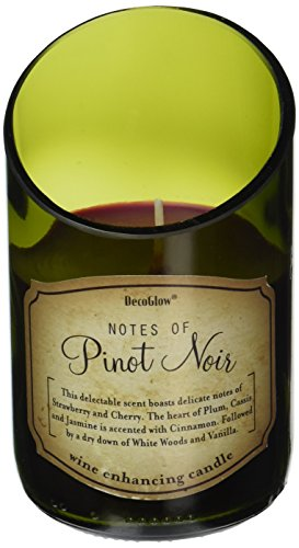 (Deco Glow CDL5469 Candle, Wine Bottle Pinot Noir)