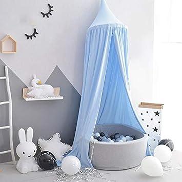 Tent Carpa Infantil Juego Casa Cúpula Cama Cama Cama Carpa Carpa Bola Marina Piscina,Blue