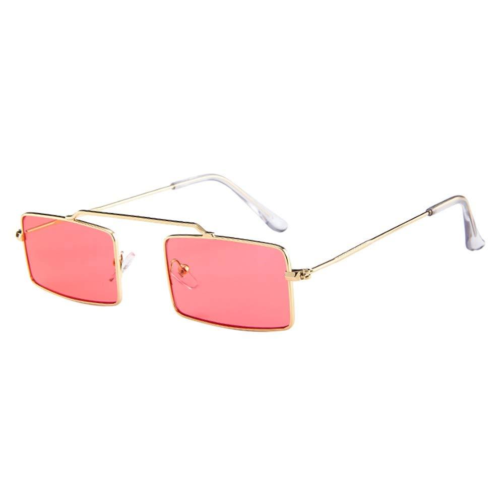 Molyveva Vintage Sunglasses for Men Retro Women Mens Sunglasses Fashion Square Sun Glasses