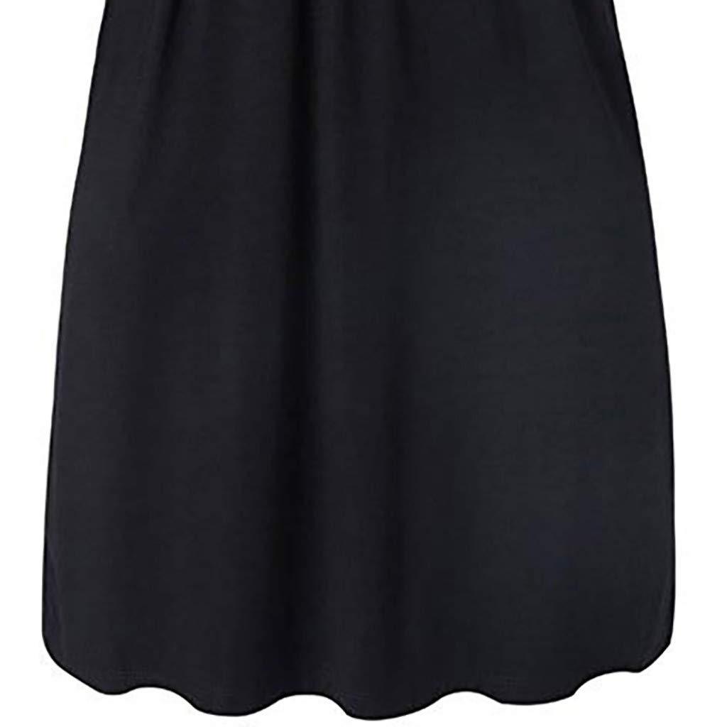 Damen Umstandskleid Stillmode Stillkleidung Stillshirt,Frauen Schwangere Mutterschaft Streifen Tunika Stillen Sommer Mutterschaft Kleid Stillen Baby Nachthemd Nachtw/äsche