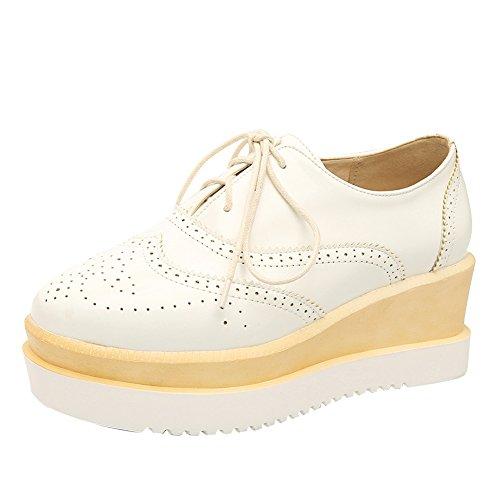 Latasa Chaussures À Plateforme À Lacets Pour Femmes