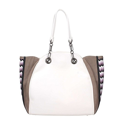 Borsa Shopping Bag Classic Mini Etno Ama White