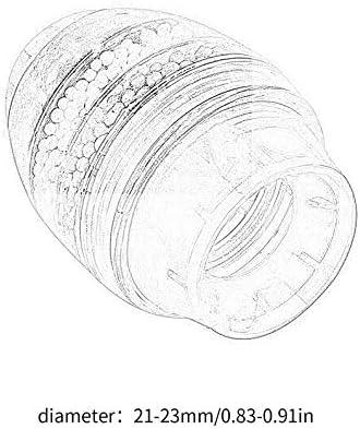 UkYukiko Cartouche filtrante en fibre de coco pour robinet de cuisine