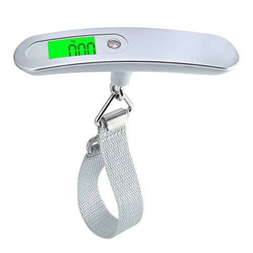 Price comparison product image LCD Display Luggage Scale, Electronic Digital Scale, Digital Hanging Luggage Scale, Digital Postal Luggage Weight Scale