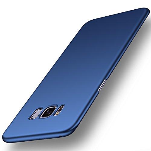 ORNARTO Samsung Galaxy S8 Case,S8 [Basic Series] Thin Fit Shell Premium Hard Plastic Matte Finish Non Slip Full Protective Anti-Scratch Cover Cases for Samsung S8(2017) Deepsea Blue