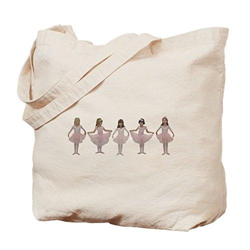 CafePress–bebé Ballerinas danza bolsa–gamuza de bolsa de lona bolsa, bolsa de la compra Small caqui