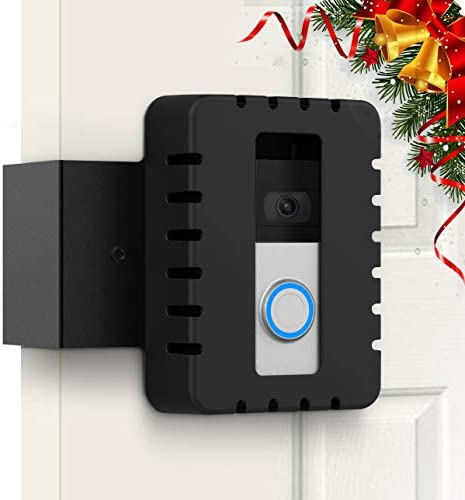 Anti-theft Video Doorbell Mount Door Mount for Video Doorbell 1, Video Doorbell 2, Video Doorbell 3, Video Doorbell 3 Plus and Most Video Doorbells - Doorbell Accessories
