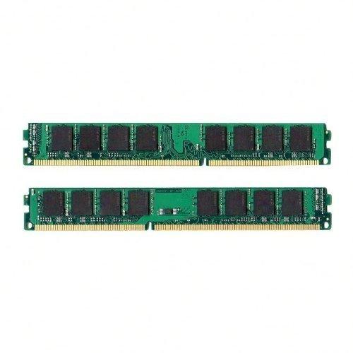 (NEW! 4GB Kit 2x 2GB DDR3 1333MHz PC3-10600 Non ECC Desktop Memory RAM)