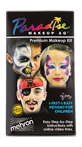 Mehron Makeup Premium Children's Face Painting Kit