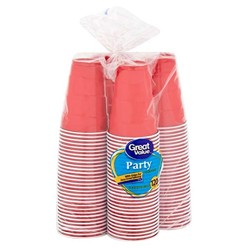 (Pack of 2 Plastic Party Cups, 18 oz, 120 Count Per Pack - Easy Grips For Easy Entertaining, Perfect For Your Party, Great Alternative To Glass Cups)
