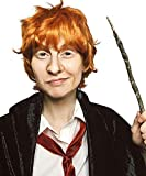 ALLAURA Ron Wizard Wig Adult Kids Orange Ginger Wigs Cosplay Costume Boys Adult