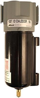 Milton 1037 1//2 NPT Metal FRL Coalescing Filter