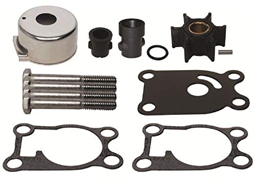 GLM Water Pump Impeller Kit for Johnson Evinrude Outboard 4, 4.5, 5, 6, 8 Hp Replaces 396644 Read Item Description for Exact Applications