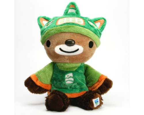 (Sumi Is an Animal Spirit Olympic Mascot Who Lives in the Mountains of British Columbia. )