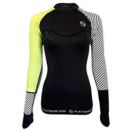 Make Scuba Diving Costumes - Women's Rash Guard Swim Shirt Long