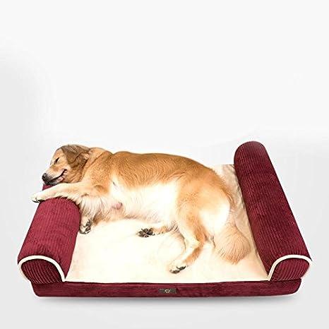 WSS esponja elástico alta Wo Gros perro de pequeña y media de caseta para mascotas sofá-cama colchón de Sofa: Amazon.es: Productos para mascotas