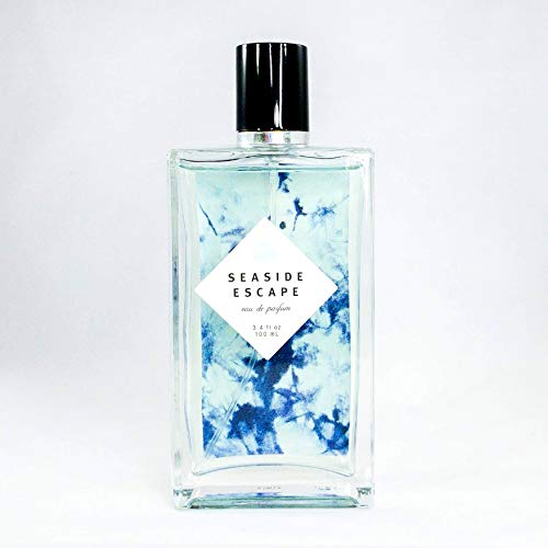 Seaside Escape Eau De Parfum by Tru Fragrance and Beauty - Bright and Fresh Fruity Floral Perfume for Women - Bergamot, Jasmine, Sea Salt Lotus, Ocean Musk and Sheer Woods - 3.4 oz from Tru Fragrance & Beauty