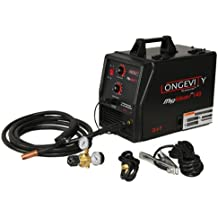 LONGEVITY Migweld 140-140 Amp Mig Welder Capable Of Flux-Core And Aluminum Gas Shielded Welding 110v
