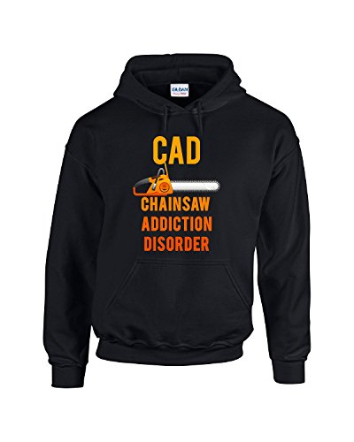 Chainsaw Addiction Disorder Cad Lumberjack Woodsman Woode...