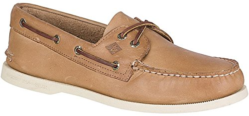 Sperry Men's Authentic Original Boat Shoe, Oatmeal, 13 M US ()