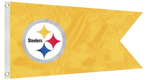 NFL Pittsburgh Steelers Boat/Golf Cart Flag - Steelers Pittsburgh Pennant