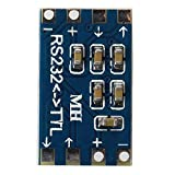 SODIAL(R) Mini RS232 - TTL Converter Module Board Adapter MAX3232 120kbps 3-5V Serial Port