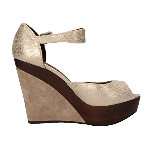 AF496 sandali scamosciata donna platino CARMENS pelle xqwnXgROwU