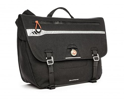 Brenthaven Velo Shoulder Messenger Bag | Water Resistant Designed for Laptops and Macbooks