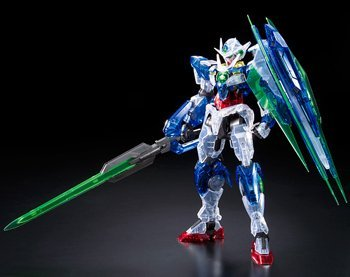 MG 1/100 GNT-0000 GNT-0000 00 Qan(T) Clear Farbe ver. Gunpla Expo 2011 Exclusive