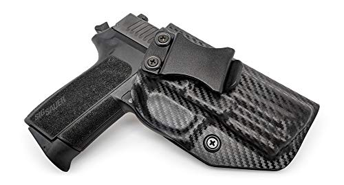 Concealment Express IWB KYDEX Gun Holster: fits Sig Sauer SP2022 - Custom Molded Fit - US Made - Inside Waistband Concealed Carry Holster - Adj. Cant & Retention ()