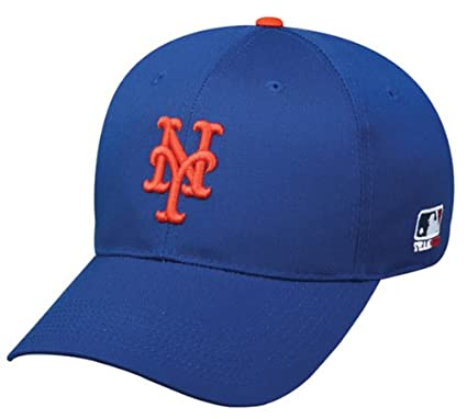 f93f34581 Amazon.com : New York Mets Adjustable Baseball Hat - Officially ...