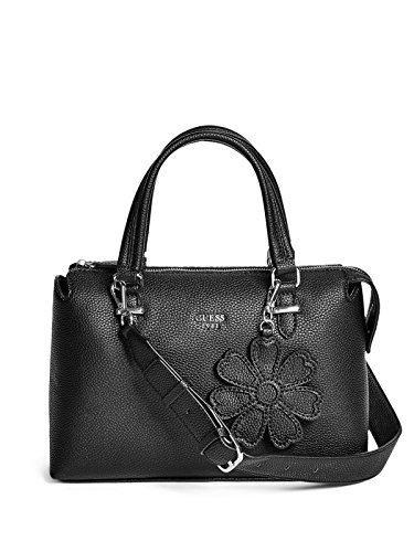 GUESS Factory Women's Wonderful Flower Charm Satchel