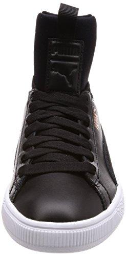 Donna Sneaker Fierce Nero nero Puma Basket wpqExAwH