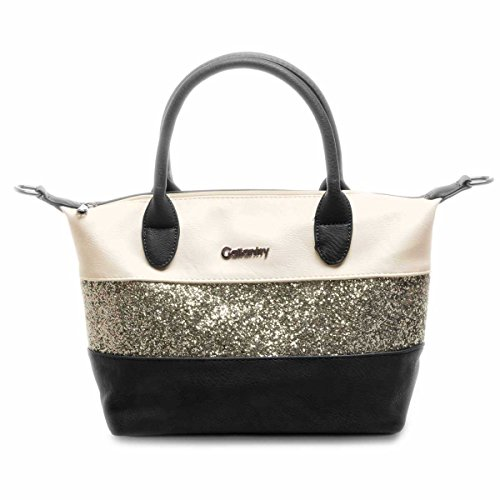 Camel con mano dimensione a iPad Gallantry Beige Air urbano borsa paillettes stile con Compatibile media Eq6wxtw