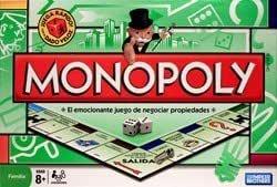 Milton Bradley Spanish Monopoly Board Game by TACVPI: Amazon.es: Juguetes y juegos